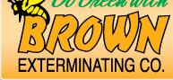 Brown Exterminating Co, Pest control